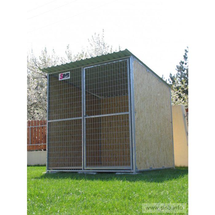 BONITA Kutya kennel, 2x2m alapterület