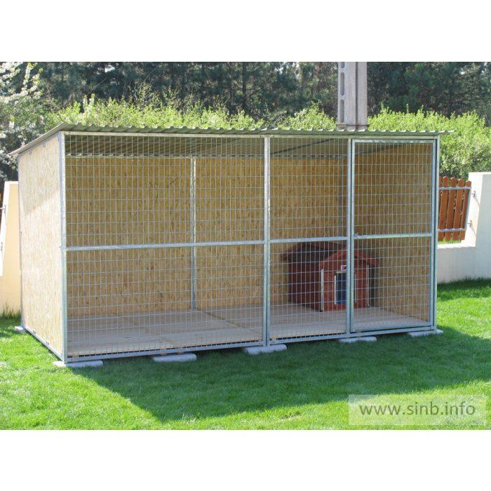 BONITA Kutya kennel, 4x2m alapterület