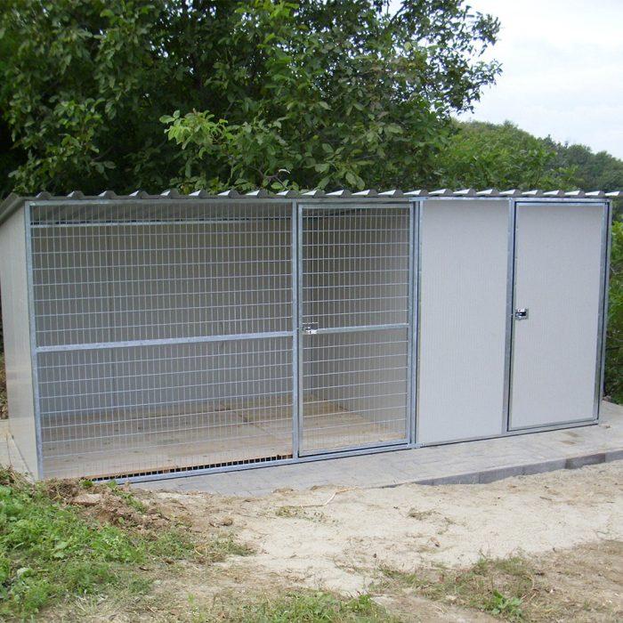 COMBINO Kutya kennel, 5x2m alapterület, padozat nélkül