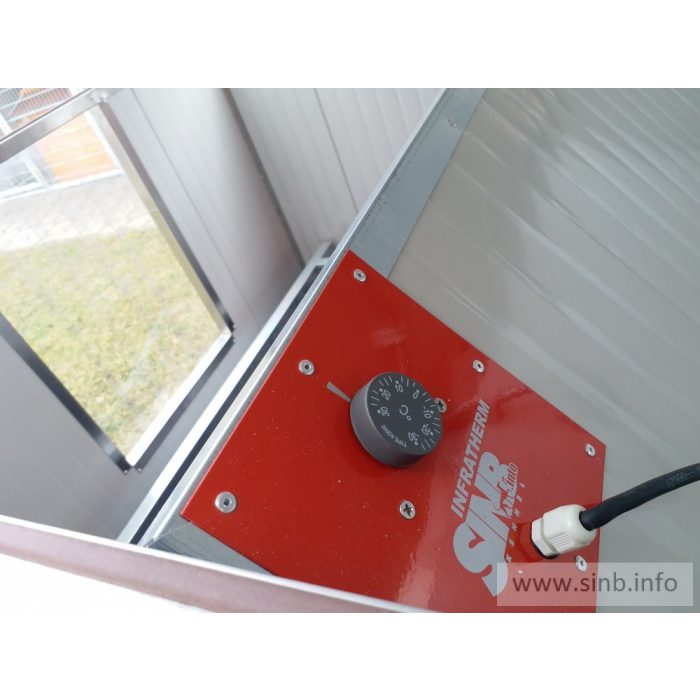 Infrapanel fűtés REB-150 elletőboxhoz
