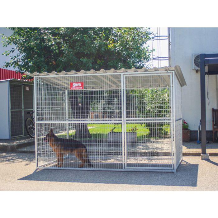 GRID Kutya kennel, 2x3m alapterület
