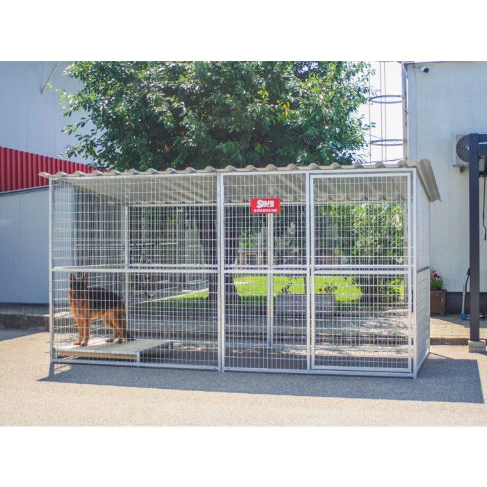 GRID Kutya kennel, 2x4m alapterület