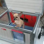 """[IF-RH_XL] INFRAFŰTÉSES Thermo Renato kutyaház """"XL"""" belméret (HxSZxM:102x68x55cm)"""