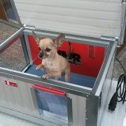 """[IF-RH_2XL] INFRAFŰTÉSES Thermo Renato kutyaház """"2XL"""" belméret (HxSZxM:120x80x65cm)"""