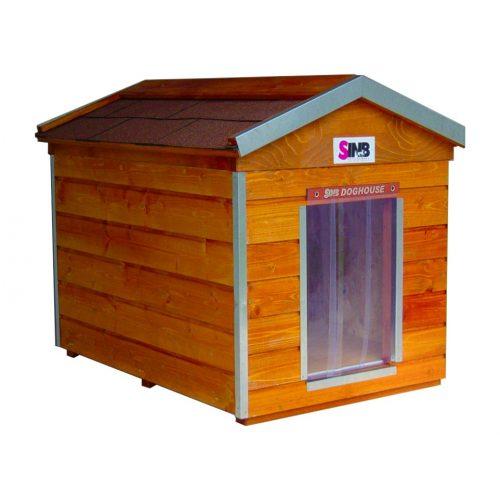 [M-HS-PA] Thermo Madera kutyaház (sátortetővel)