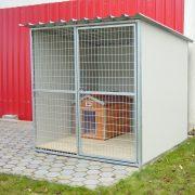"""[M-HL-ST] Thermo Madera kutyaház (sátortetővel) """"L"""" belméret (HxSZxM:84x56x49cm) - Nyeregtetős"""