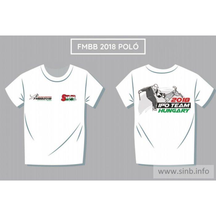 FMBB 2018 támogatói férfi póló