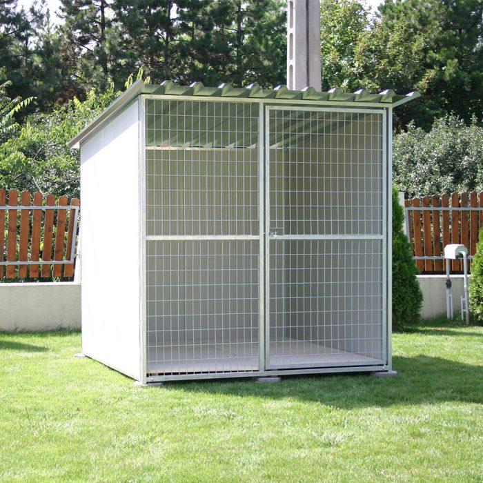 RENATO Kutya kennel, 2x2m alapterület, padozat nélkül