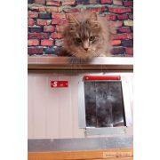 "[RH_C1-W] Thermo Renato cicaház panoráma ablakkal ""CAT"" belméret (HxSZxM:54x38x28cm)"