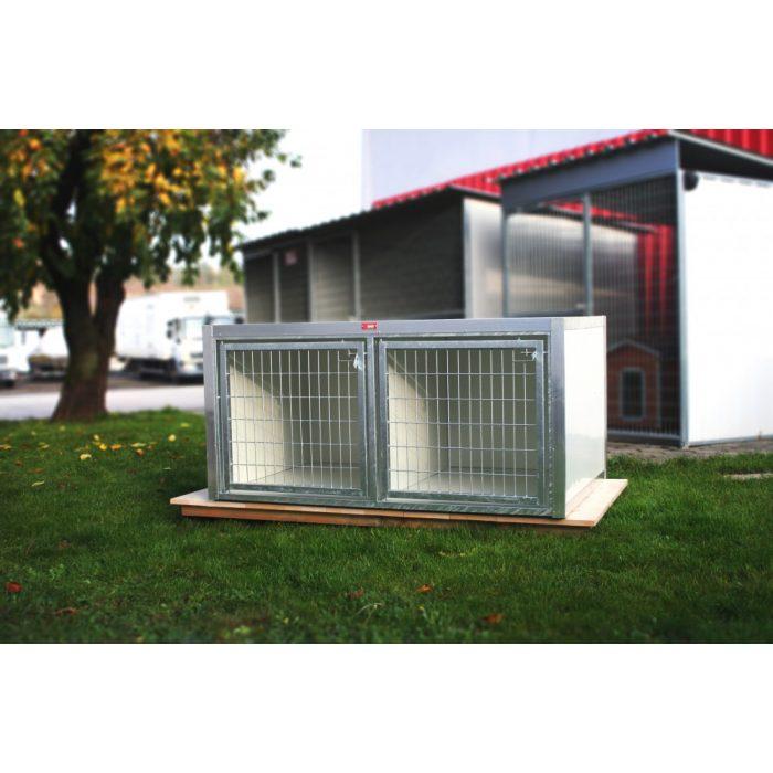 Kiképzőbox, 2 box, belméret (LxBxH:95x75x75cm)