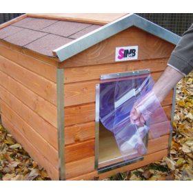 Szélvédő függöny kutyaházra