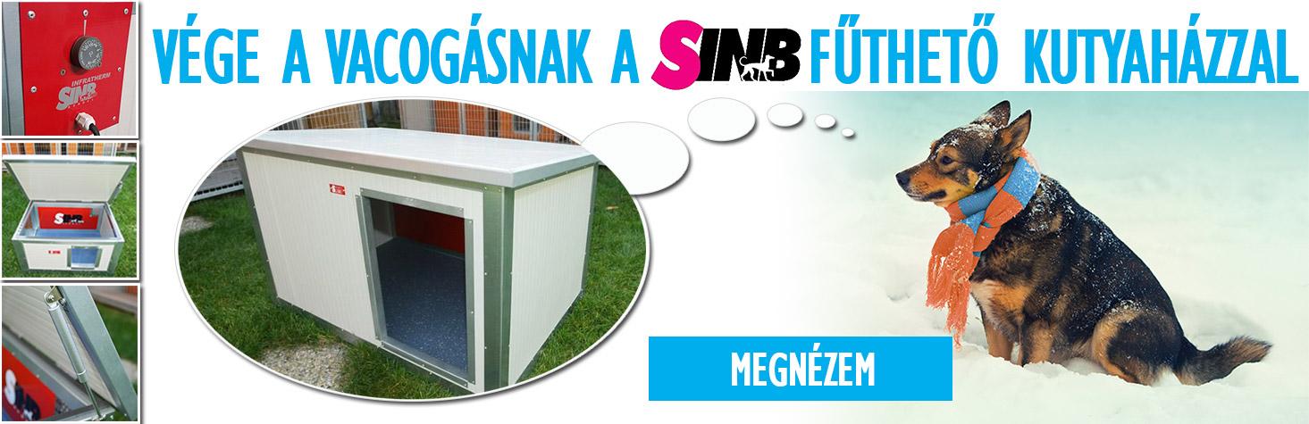 SINB - Thermo Renato - Fűthető kutyaház